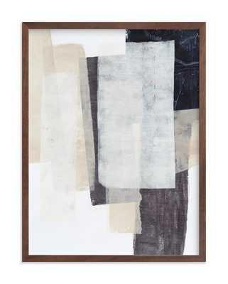 "History Repeats - 18"" x 24"" - Walnut Wood Frame - Minted"