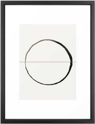 "C7 Framed Art - 20x26"" - vector black Frame - Society6"