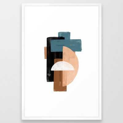Original Large Art Framed Art Print - Society6