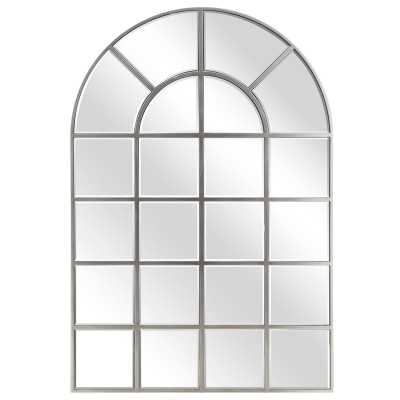 McKenney Arch Window Pane Wall Mirror - Wayfair