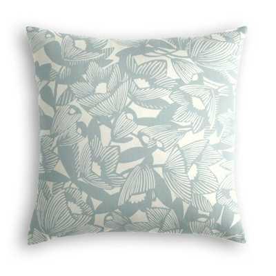 Large Lumbar Pillow  Romaria - Aquatint, 24 x 24 - Loom Decor
