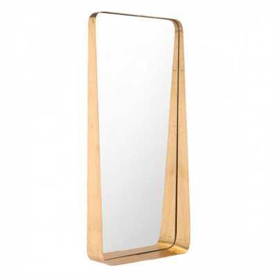 Tall Gold Mirror - Zuri Studios