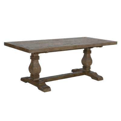Gertrude Pine Solid Wood Dining Table - Wayfair