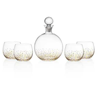 Lace 5 Piece Decanter Set - Wayfair