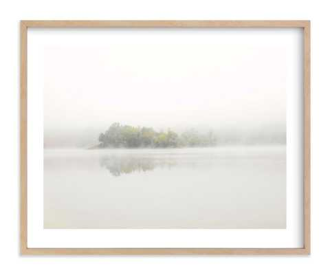 """The Island - 20""""x16"""", Natural Raw Wood Frame - Minted"""