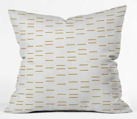 OCHRE LINE Outdoor Throw Pillow - Wander Print Co.