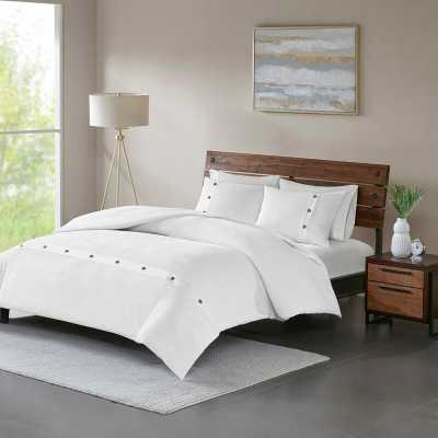 Carmella 3 Piece 100% Cotton Comforter Set - Wayfair