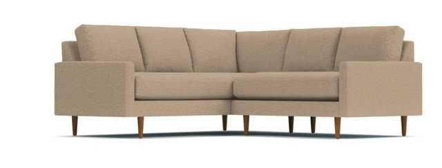 Scott 2pc L-Sectional Sofa - Beige - Apt2B