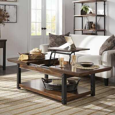 Amesbury Coffee Table with Storage - Wayfair