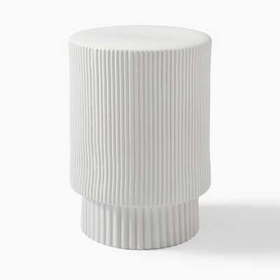 Fluted Side Table - West Elm
