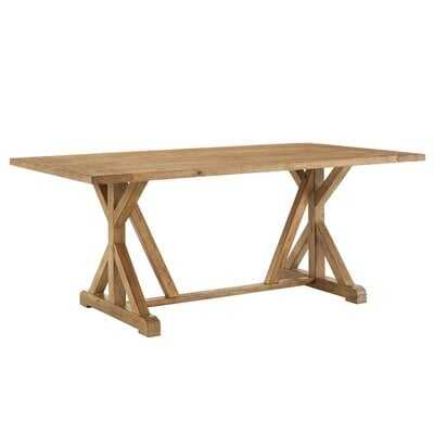 Oshea Solid Wood Dining Table - Wayfair
