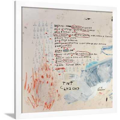 "Neu by Jean-Michel Basquiat 40"" x 40"" - art.com"