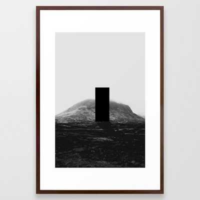 L - AW Framed Art Print - Society6