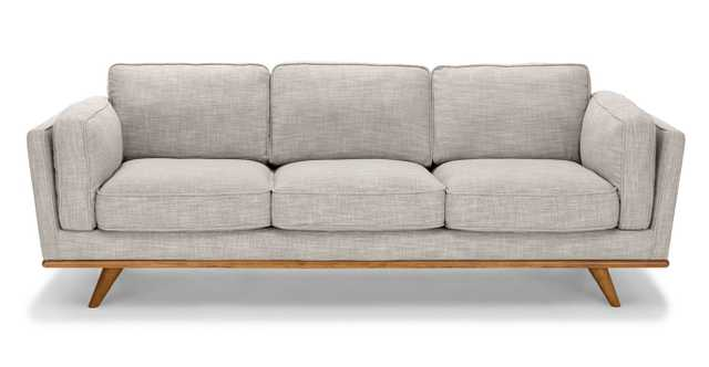 Timber rain cloud gray sofa - Article