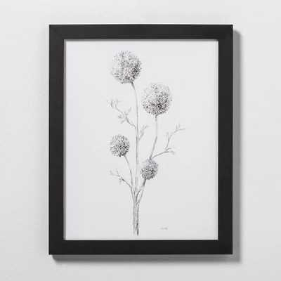 Flowering Branch Wall Art with Frame - Hearth & Hand™ with Magnolia - Target