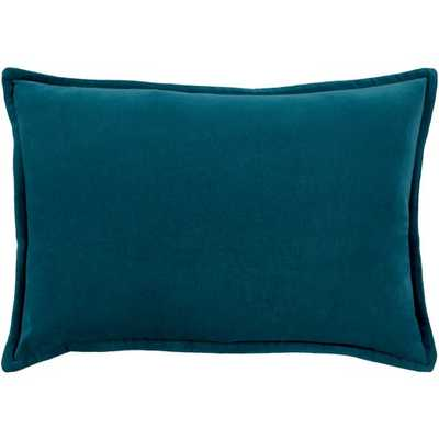 Cotton Velvet Pillow with Down Insert - Neva Home