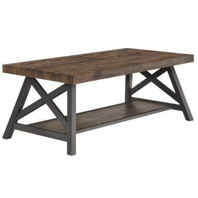 Silvis Coffee Table / Brown - Wayfair