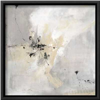 "Stone Sky 12x12"" - Black framed canvas - art.com"