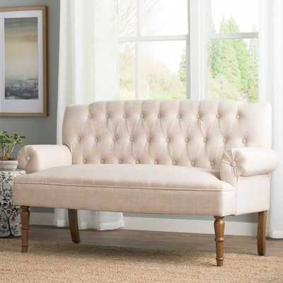 Bjorn Chesterfield Settee - Wayfair