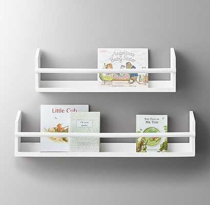 WOOD BOOK DISPLAY SHELF - RH Baby & Child