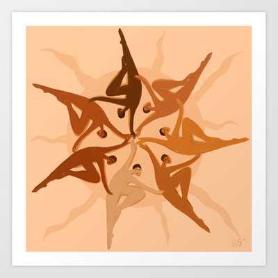 Sunchildren Art Print by Maggie Stephenson - Society6