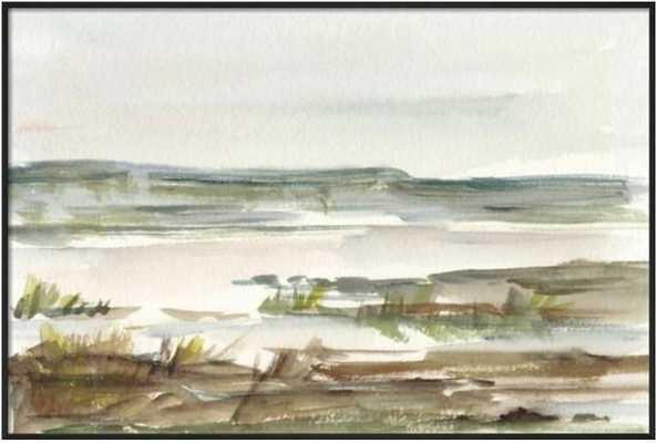 Overcast Wetland II - art.com
