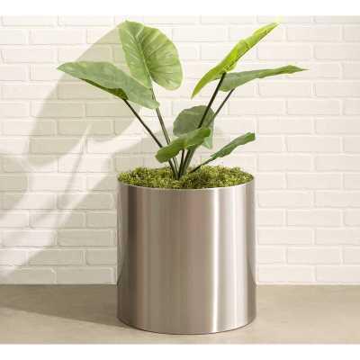 Stainless Steel Pot Planter - Wayfair