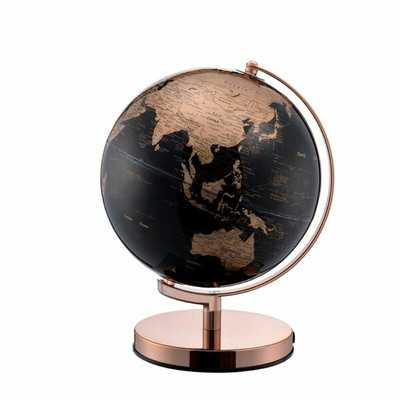 Metal Frame Globe - Wayfair