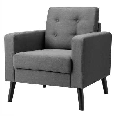 "Grunwald 29.5"" W Tufted Armchair - Wayfair"