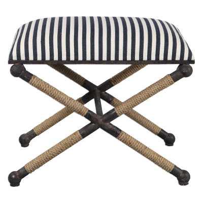 Brunon Upholstered Vanity Stool - Wayfair