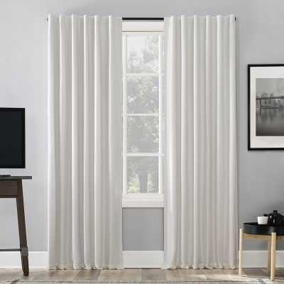 Branquinha Solid Max Blackout Thermal Tab Top Curtains - Wayfair