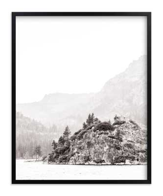 "Little Island - 16 x 20"" - stone - Minted"