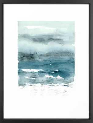 dissolving blues Art Print - Medium by Patternization frame - Society6