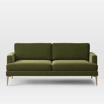 ANDES SOFA - Olive green - West Elm