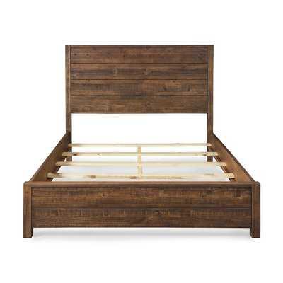 Montauk Panel Bed - Queen - Rustic Walnut - Wayfair
