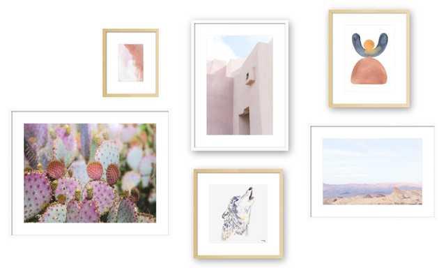 Desert Song Gallery Wall Set - Artfully Walls