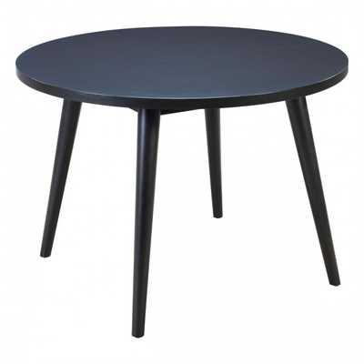 Raven Round Dining Table Black - Zuri Studios