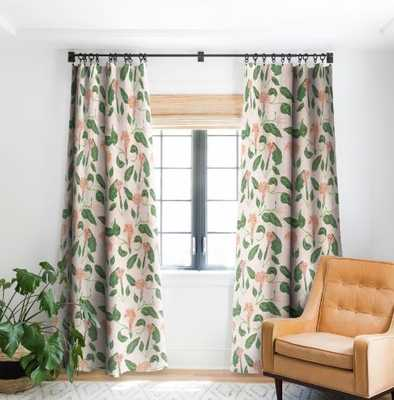 DESERT MOONFLOWER Blackout Window Curtain - 2 panel - Wander Print Co.
