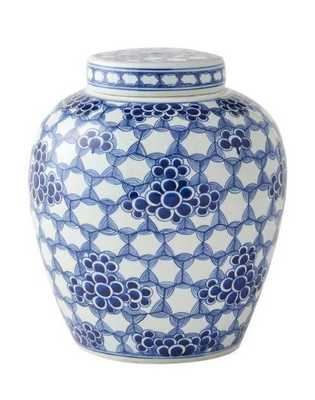 Geometric Floral Pot - Caitlin Wilson