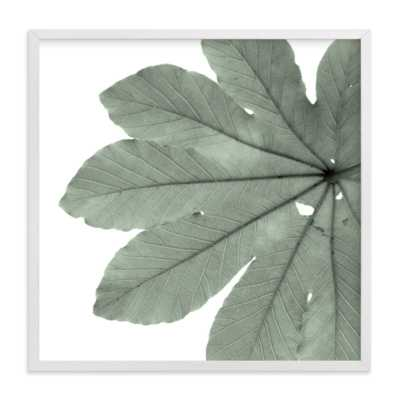 leaf in green - Minted