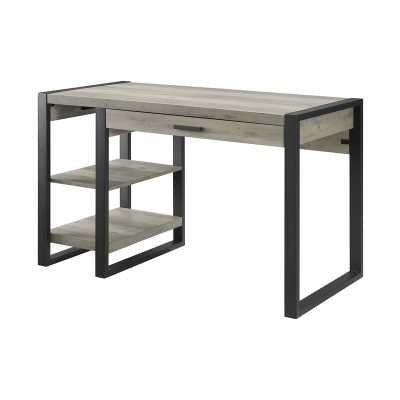 Norris Desk in Gray Wash - AllModern