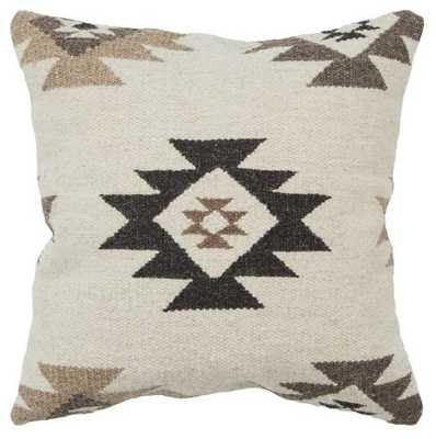 Rizzy Home Southwest Throw Pillow Beige - Target