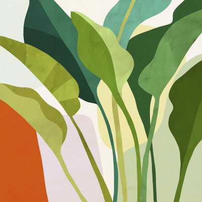 Tropica I by Victoria Borges - Graphic Art Print on Canvas - Wayfair