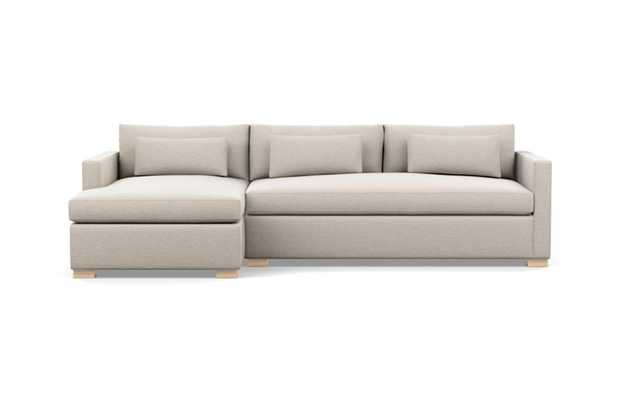 """CHARLY SLEEPER-Sleeper Sectional Sofa with Left 73"""" Chaise - Interior Define"""