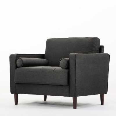 Garren Armchair, heather gray - Wayfair