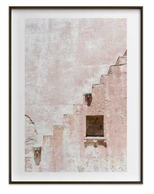 """Fortress I - 18"""" x 24"""" with Matte Black Frame - Minted"""
