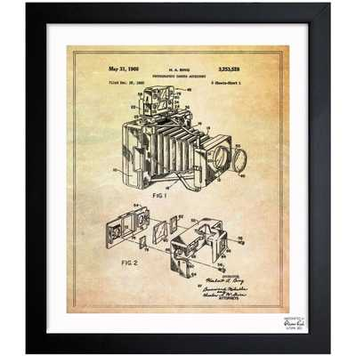 'Bing Polaroid Camera Accessory 1966' Wrapped Canvas Graphic Art Print on Canvas - Wayfair
