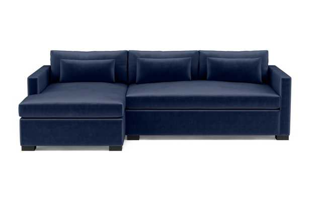CHARLY Sectional Sofa with Left Chaise - Interior Define
