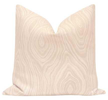 """Agate Linen Print // Cameo - 18"""" X 18"""" - Little Design Company"""