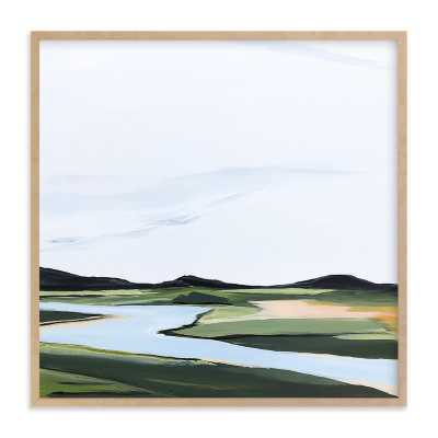 County Road River Bank 30 x 30 - Minted